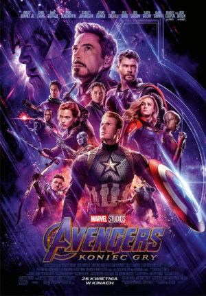 Avengers Koniec gry 10.05 kino Halszka